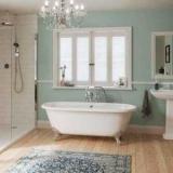 Висота установки ванни від статі: норми та допустимі відхилення