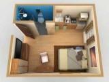 Кімната-студія з кухнею: фото ідей оформлення, поради дизайнерів по влаштуванню