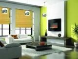 Зелений ламінат в інтер'єрі: фото