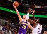 Михайлюк набрав перші очки в НБА