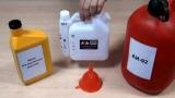 Пропорції масла і бензину для бензопил, вибір масла, інструкція